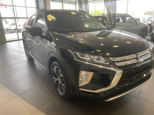 Used Mitsubishi Eclipse Cross YA MY19 Exceed AWD Essendon North, 2018 Mitsubishi Eclipse Cross YA MY19 Exceed AWD Black 8 Speed Constant Variable Wagon
