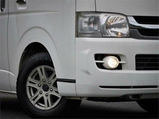 2009 Toyota HiAce KDH201V Super GL White 4 Speed Automatic Van.