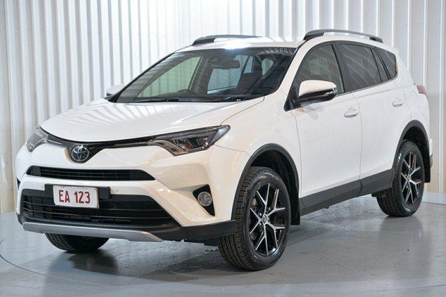 Used Toyota RAV4 ASA44R GXL AWD Hendra, 2018 Toyota RAV4 ASA44R GXL AWD White 6 Speed Sports Automatic Wagon