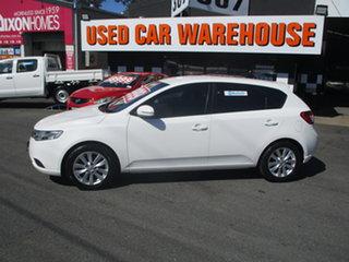 2012 Kia Cerato TD MY12 SI White 6 Speed Automatic Hatchback.
