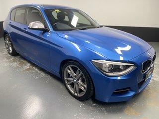 2013 BMW 1 Series F20 M135i Steptronic Estoril Blue 8 Speed Sports Automatic Hatchback.