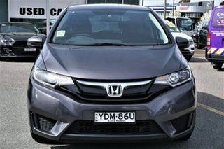 2016 Honda Jazz GF MY16 VTi Grey 1 Speed Constant Variable Hatchback.