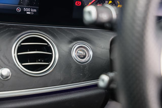 2017 Mercedes-Benz E-Class W213 E43 AMG 9G-Tronic PLUS 4MATIC Iridium Silver 9 Speed