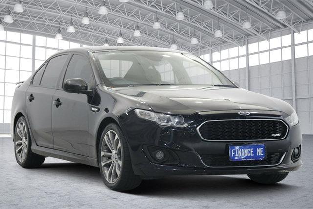 Used Ford Falcon FG X XR6 Victoria Park, 2015 Ford Falcon FG X XR6 Black 6 Speed Sports Automatic Sedan
