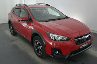 2018 Subaru XV G5X MY18 2.0i-L Lineartronic AWD Pure Red 7 Speed Constant Variable Wagon.