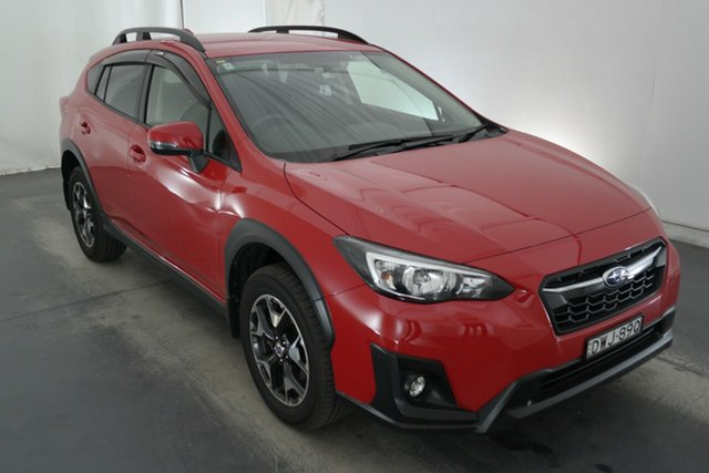 Used Subaru XV G5X MY18 2.0i-L Lineartronic AWD Maryville, 2018 Subaru XV G5X MY18 2.0i-L Lineartronic AWD Pure Red 7 Speed Constant Variable Wagon
