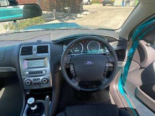 2007 Ford Falcon BF Mk II XR8 Ute Super Cab Green 6 Speed Manual Utility.