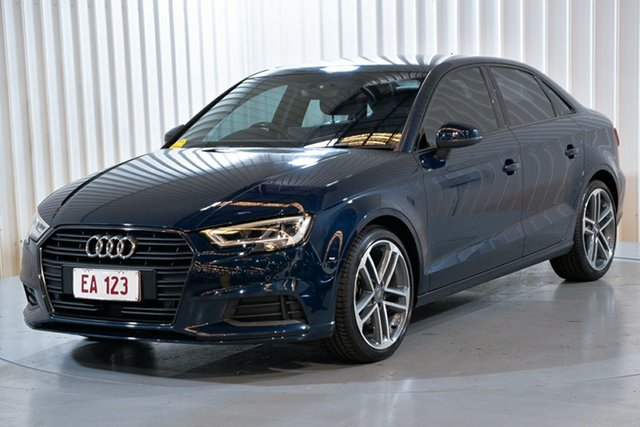 Used Audi A3 8V MY17 S Tronic Hendra, 2016 Audi A3 8V MY17 S Tronic Blue 7 Speed Sports Automatic Dual Clutch Sedan