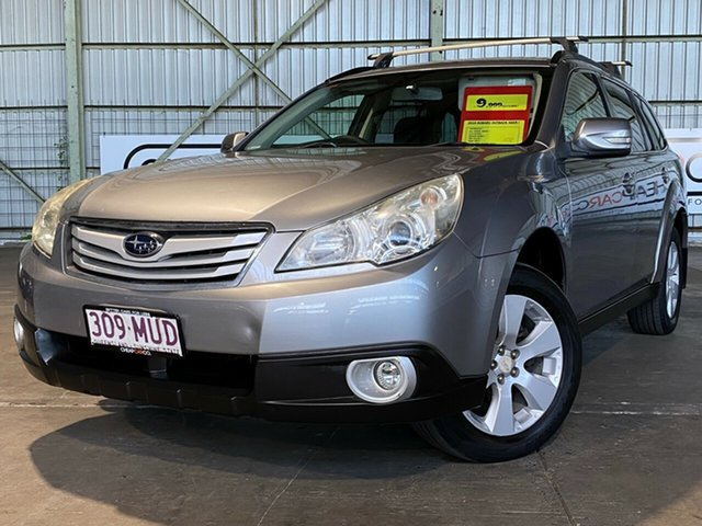 Used Subaru Outback B5A MY10 2.5i Lineartronic AWD Rocklea, 2010 Subaru Outback B5A MY10 2.5i Lineartronic AWD Silver 6 Speed Constant Variable Wagon