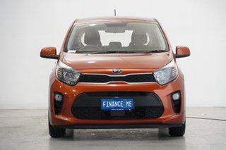 2018 Kia Picanto JA MY18 S Orange 4 Speed Automatic Hatchback.