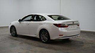 2018 Lexus ES AVV60R ES300h Luxury White 1 Speed Constant Variable Sedan Hybrid.