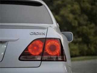 2006 Toyota Crown GRS184 Athlete White 6 Speed Automatic Sedan