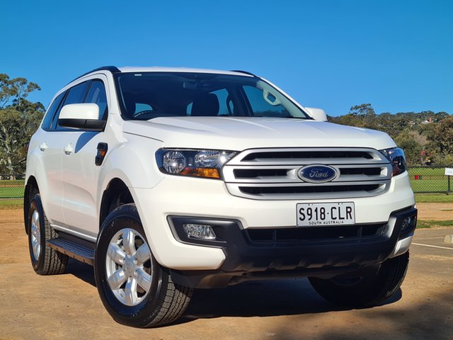 Used Ford Everest UA 2018.00MY Ambiente St Marys, 2018 Ford Everest UA 2018.00MY Ambiente White 6 Speed Sports Automatic SUV