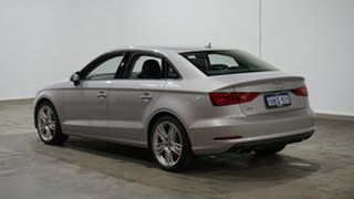 2015 Audi A3 8V MY16 Attraction S Tronic Silver 7 Speed Sports Automatic Dual Clutch Sedan.