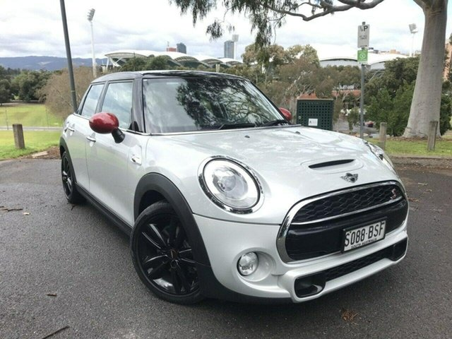 Used Mini Hatch F55 Cooper S Adelaide, 2017 Mini Hatch F55 Cooper S Silver 6 Speed Sports Automatic Hatchback