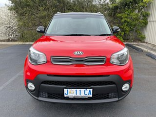 2018 Kia Soul PS MY18 SI Red 6 Speed Sports Automatic Hatchback.