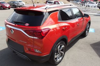 2021 Ssangyong Korando C300 MY21 Ultimate 2WD Orange 6 Speed Sports Automatic Wagon.