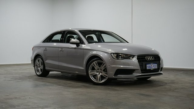 Used Audi A3 8V MY16 Attraction S Tronic Welshpool, 2015 Audi A3 8V MY16 Attraction S Tronic Silver 7 Speed Sports Automatic Dual Clutch Sedan