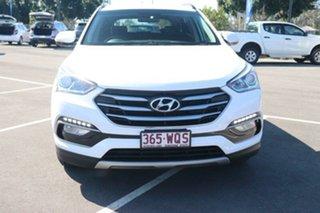 2016 Hyundai Santa Fe DM3 MY16 Active Creamy White 6 Speed Sports Automatic Wagon.