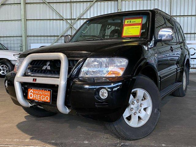Used Mitsubishi Pajero NP MY05 Exceed Rocklea, 2004 Mitsubishi Pajero NP MY05 Exceed Black 5 Speed Sports Automatic Wagon