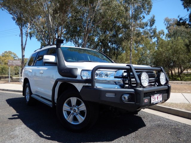 Pre-Owned Toyota Landcruiser VDJ200R MY16 GXL (4x4) Dalby, 2016 Toyota Landcruiser VDJ200R MY16 GXL (4x4) Glacier White 6 Speed Automatic Wagon