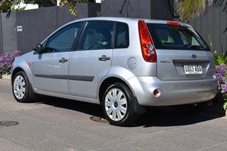 2008 Ford Fiesta WQ LX Silver 5 Speed Manual Hatchback.
