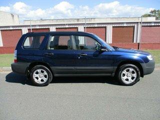 2005 Subaru Forester 79V MY06 X AWD Blue 4 Speed Automatic Wagon.