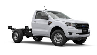 2021 Ford Ranger PX MkIII XL Single Cab Chassis Arctic White 6 Speed Manual.