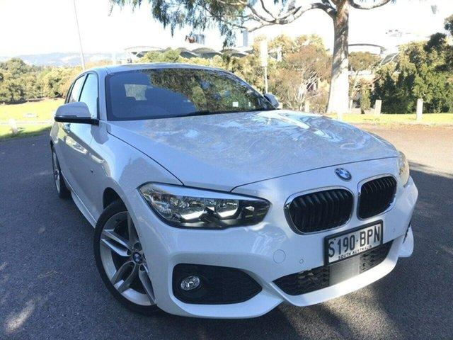 Used BMW 1 Series F20 LCI 120i Steptronic M Sport Adelaide, 2017 BMW 1 Series F20 LCI 120i Steptronic M Sport White 8 Speed Sports Automatic Hatchback