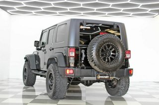 2010 Jeep Wrangler Unlimited JK MY09 Sport (4x4) Black 4 Speed Automatic Softtop