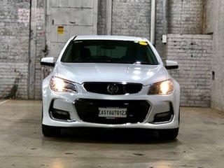 2017 Holden Commodore VF II MY17 SV6 Sportwagon White 6 Speed Sports Automatic Wagon.