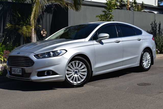 Used Ford Mondeo MD Trend Brighton, 2016 Ford Mondeo MD Trend Silver 6 Speed Sports Automatic Hatchback