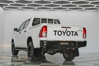 2019 Toyota Hilux GUN126R MY19 SR (4x4) White 6 Speed Automatic Double Cab Pick Up