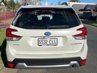 2021 Subaru Forester S5 MY21 2.5i-S CVT AWD Crystal White Pearl 7 Speed Constant Variable Wagon