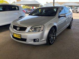 2009 Holden Caprice WM MY09.5 Silver 6 Speed Sports Automatic Sedan.