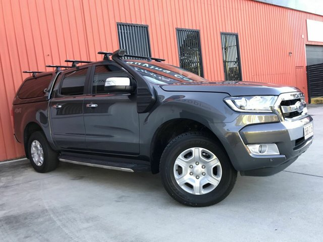 Used Ford Ranger PX MkII XLT Double Cab Molendinar, 2017 Ford Ranger PX MkII XLT Double Cab Grey 6 Speed Sports Automatic Utility