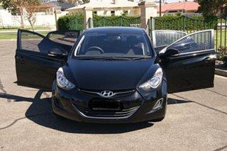 2012 Hyundai Elantra MD2 Active Black 6 Speed Automatic Sedan