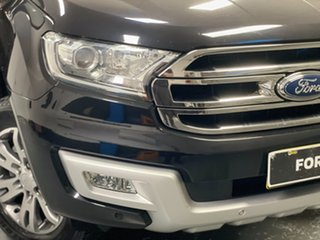 2015 Ford Everest UA Trend Black Mica 6 Speed Sports Automatic SUV.