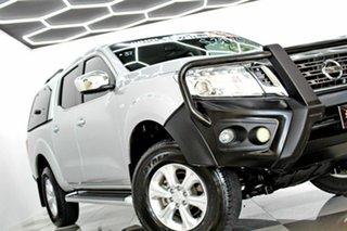 2016 Nissan Navara D23 Series II ST (4x4) Silver 7 Speed Automatic Dual Cab Utility.