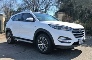 2016 Hyundai Tucson TL Active X (FWD) White Automatic Wagon.