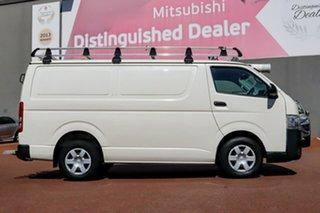2014 Toyota HiAce TRH201R MY14 LWB White 4 Speed Automatic Van.
