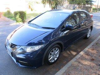 2013 Honda Civic 9th Gen MY13 VTi-S Blue 6 Speed Manual Hatchback