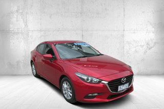 2017 Mazda 3 BN5278 Neo SKYACTIV-Drive Red 6 Speed Sports Automatic Sedan.