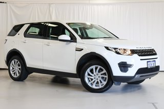 2018 Land Rover Discovery Sport L550 18MY TD4 110kW SE White 9 Speed Sports Automatic Wagon.