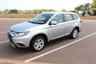 2019 Mitsubishi Outlander ZL MY19 ES AWD Silver 6 Speed Continuous Variable Wagon