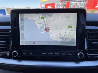 2020 Kia Stonic YB MY21 GT-Line DCT FWD Signal Red & Aurora Black 7 Speed Manual Wagon
