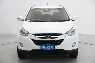 2011 Hyundai ix35 LM MY11 Elite AWD Vanilla White 6 Speed Sports Automatic Wagon.
