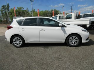 2017 Toyota Corolla ZRE182R Ascent White 6 Speed Constant Variable Hatchback