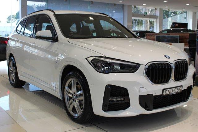 Demo BMW X1 F48 LCI sDrive18d Steptronic Newcastle West, 2020 BMW X1 F48 LCI sDrive18d Steptronic Alpine White 8 Speed Sports Automatic Wagon