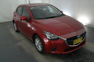 2016 Mazda 2 DJ2HAA Maxx SKYACTIV-Drive Soul Red 6 Speed Sports Automatic Hatchback.